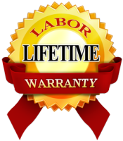 Lifetime Labor Warranty