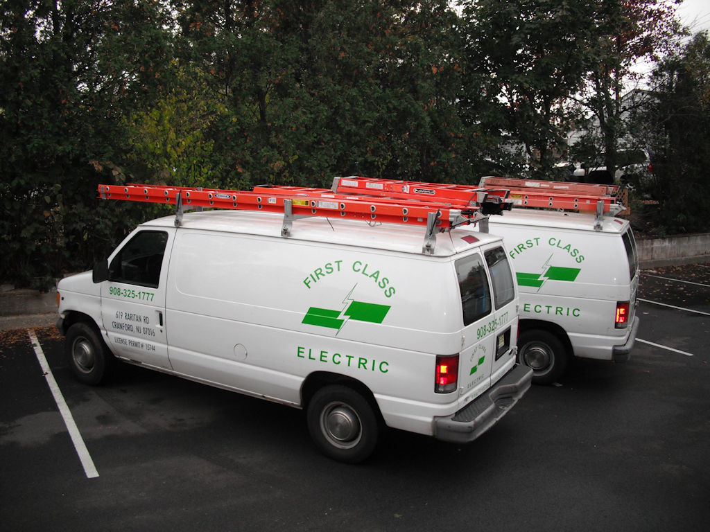 First Cl Electric Lexel Inc Work Vans