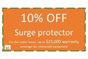 10% OFF Surge Protector