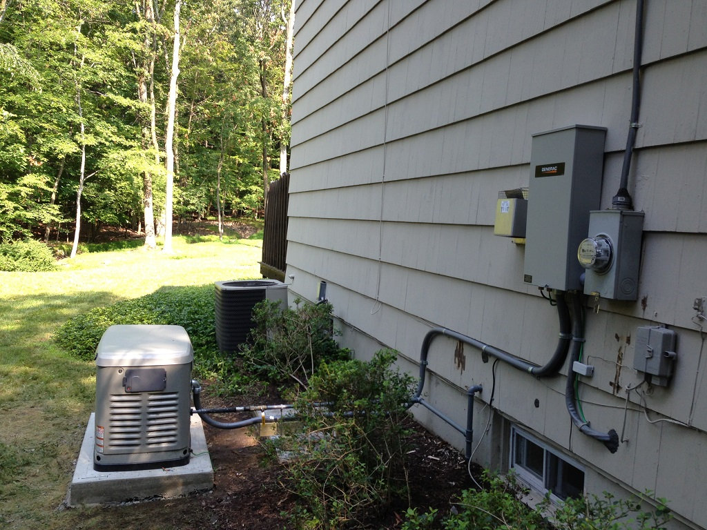 Whole House Generator Installation : Transfer switch installs central nj westfield union