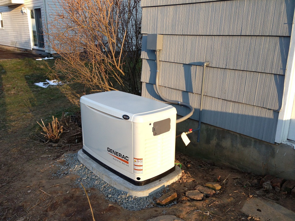 Whole House Generator Installation : Standby generators first class electric in central new