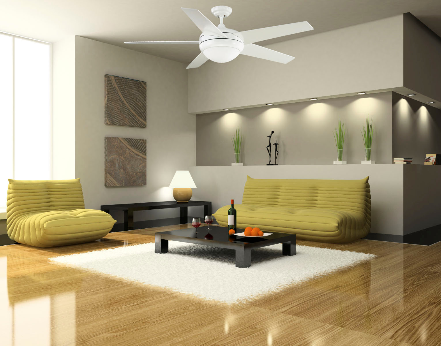 ceiling fan installs - central nj | first class electric