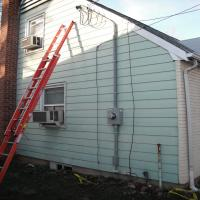 Two hundred amp electrical service change