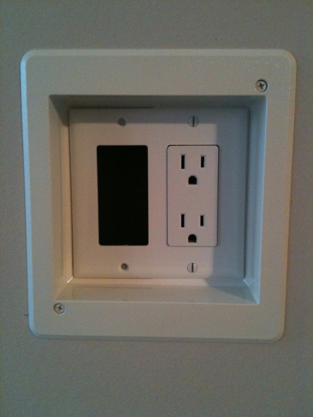 Tv Installations Central Nj Westfieldscotch Plains Wires When Installing Electrical Receptacles Wall Plug Outlets
